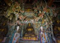Statues Inside the Hanging Temple