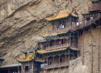 A Close View of the Shanxi Hanging Temple