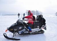 A Snowmobile Tour at China's Snow Town