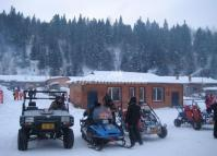 The Snowmobiles in China's Snow Town