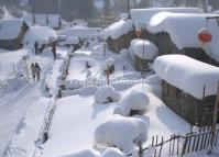 Snow Town China