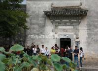 Tourists Visit Hongcun Village Huangshan