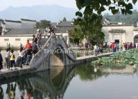 Hongcun Village Bridge Huangshan City