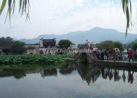 Hongcun Village Beautiful Scenery Anhui