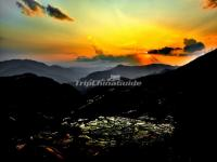 Sunset Over Honghe Hani Rice Terraces