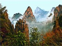 China Huangshan Mountain