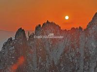Sunset Over Mount Huangshan