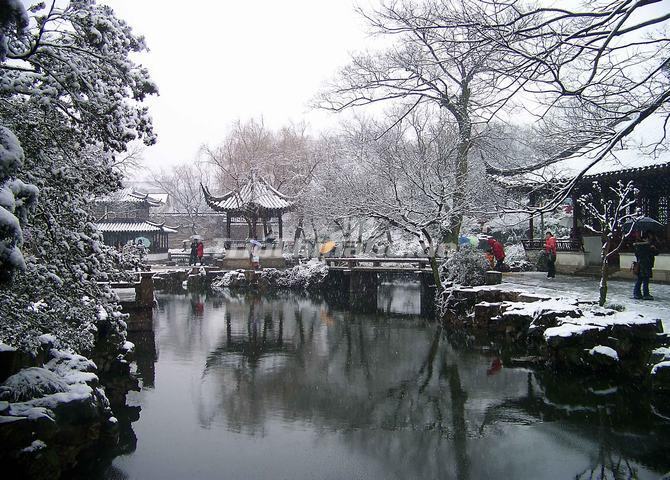 The Humble Administrator S Garden In Winter Suzhou Humble