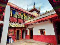 A Tibetan House in Jiaju Tibetan Village