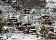Jiaju Tibetan Village in Winter