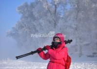 International Rime, Ice and Snow Festival at Jilin