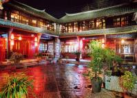 The Courtyard of the Landscape Hotel in Dali Yunnan