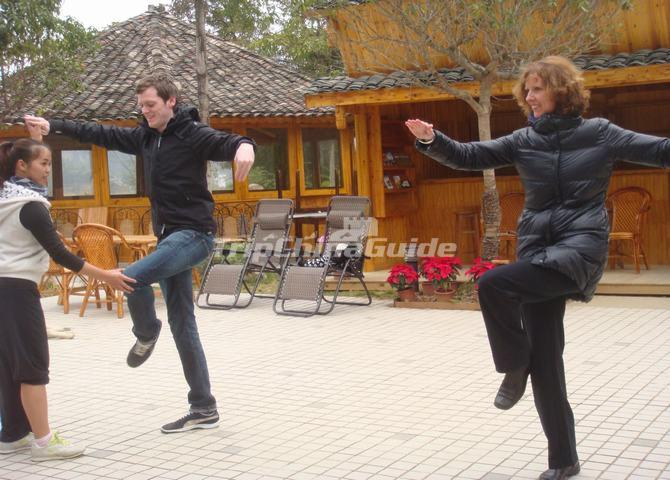 Learn Tai Chi  Boxing in Yangshuo China