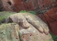 The Left Hand of the Leshan Giant Buddha