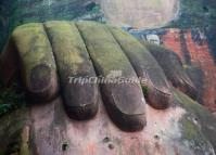 The Right Hand of the Leshan Giant Buddha