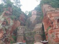 The Whole-length of the Leshan Giant Buddha