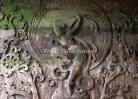 Stone Carving in Leshan Giant Buddha Scenic Area
