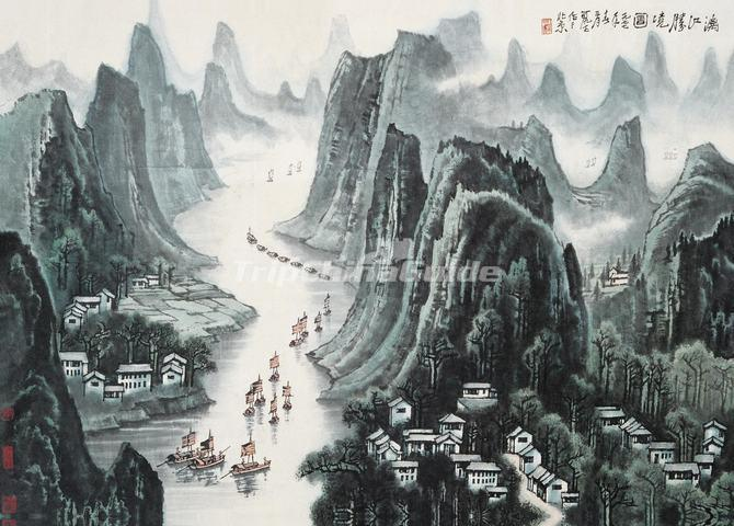 traditional chinese landscape paintings   imgkid