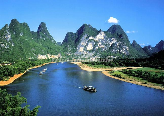 Li River Nine Horses Painting Mountain Li River Pictures
