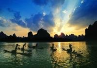 Fishermen on Li River Guilin