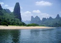 Li River Beautiful Scenery Guilin China