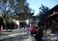 Lijiang Ancient City Busy Street