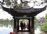 Lijiang Black Dragon Pool Park Pavilion