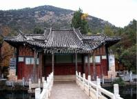 Building at Lijiang Black Dragon Pool Park