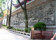 Lingyin Temple Carved Wall Hangzhou