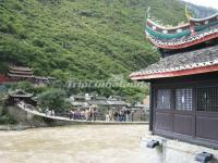 Luding Bridge Ancient Building Sichuan