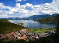 A Village Beside Lugu Lake Lijiang