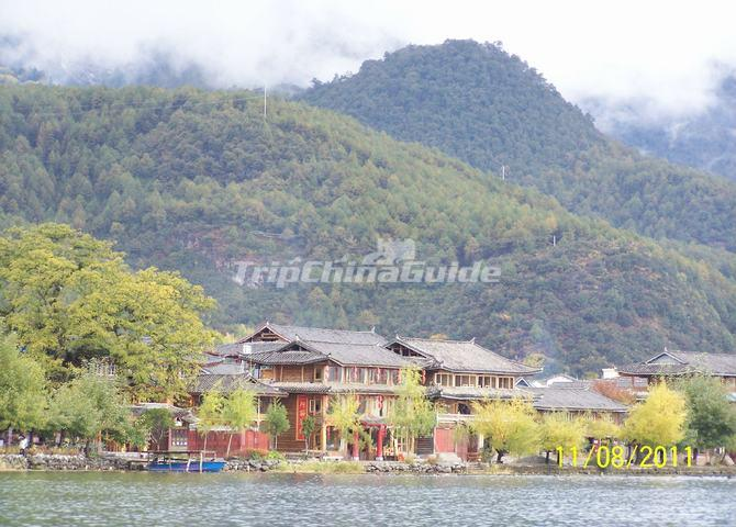Lugu Lake Building Lijiang