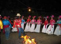 People Dance at Night Lijiang