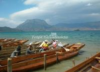 Lugu Lake Boats Lijiang