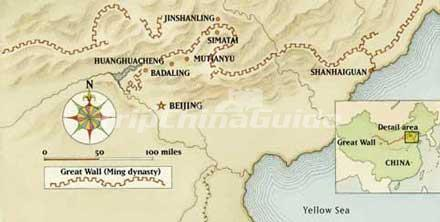 Ming Dynasty Great Wall Map