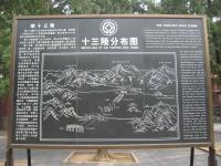 Ming Tombs Beijing Map