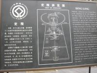 Map of Dingling Tomb
