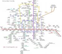 Beijing Subway System Map