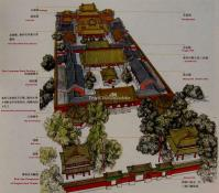 Yonghe Temple Beijing Map