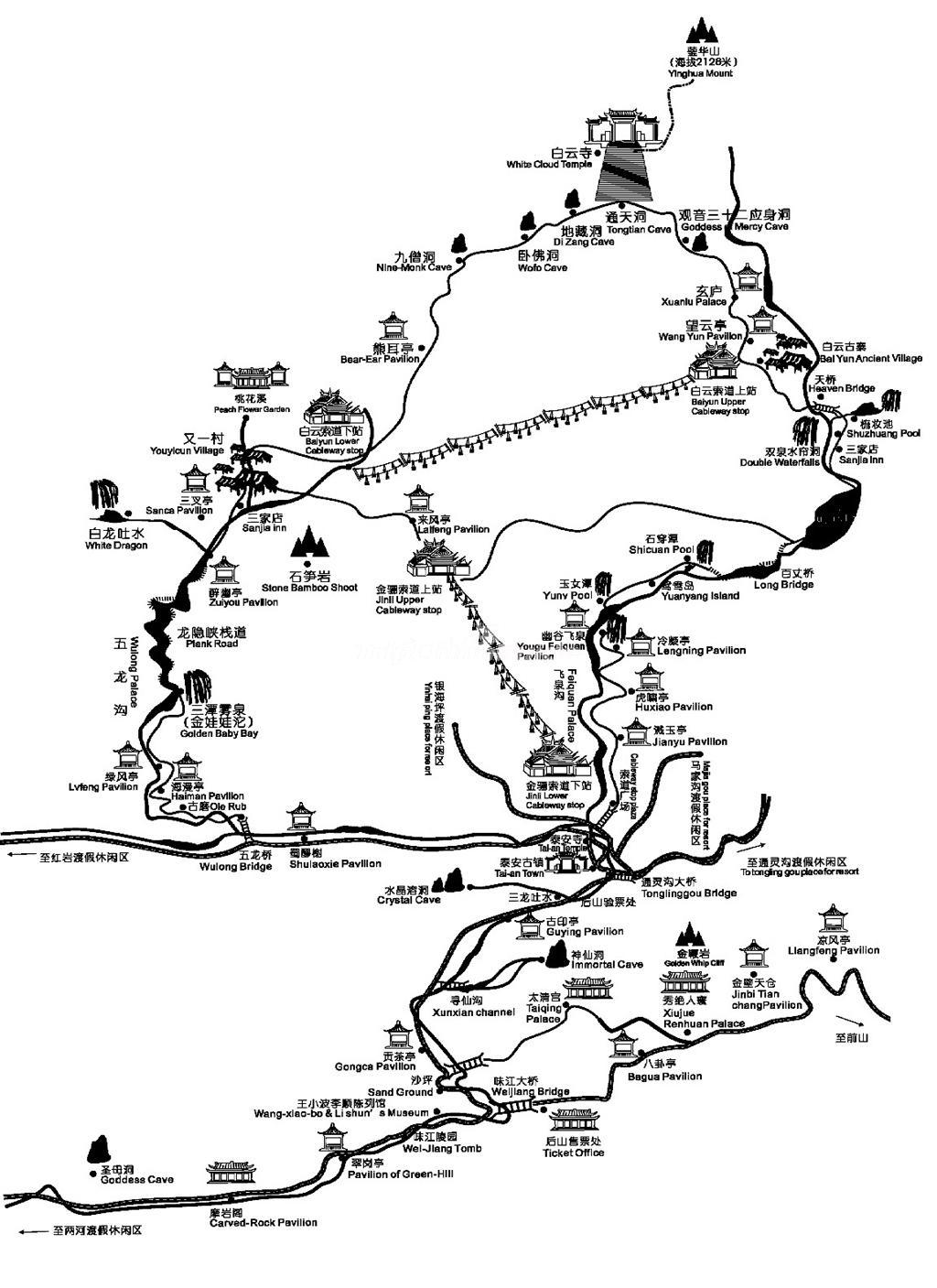 qingcheng mountain tourist map back mountain maps of chengdu Lhasa Tibet Map qingcheng mountain tourist map back mountain