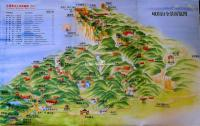 Emei Mountain Map Chengdu