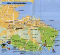 Dalian China Tourist Map