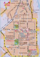 Map of Datong