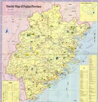 Tourist Map of Fujian