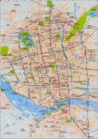 Fuzhou China Map
