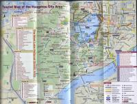 Tourist Map of the Hangzhou City Area