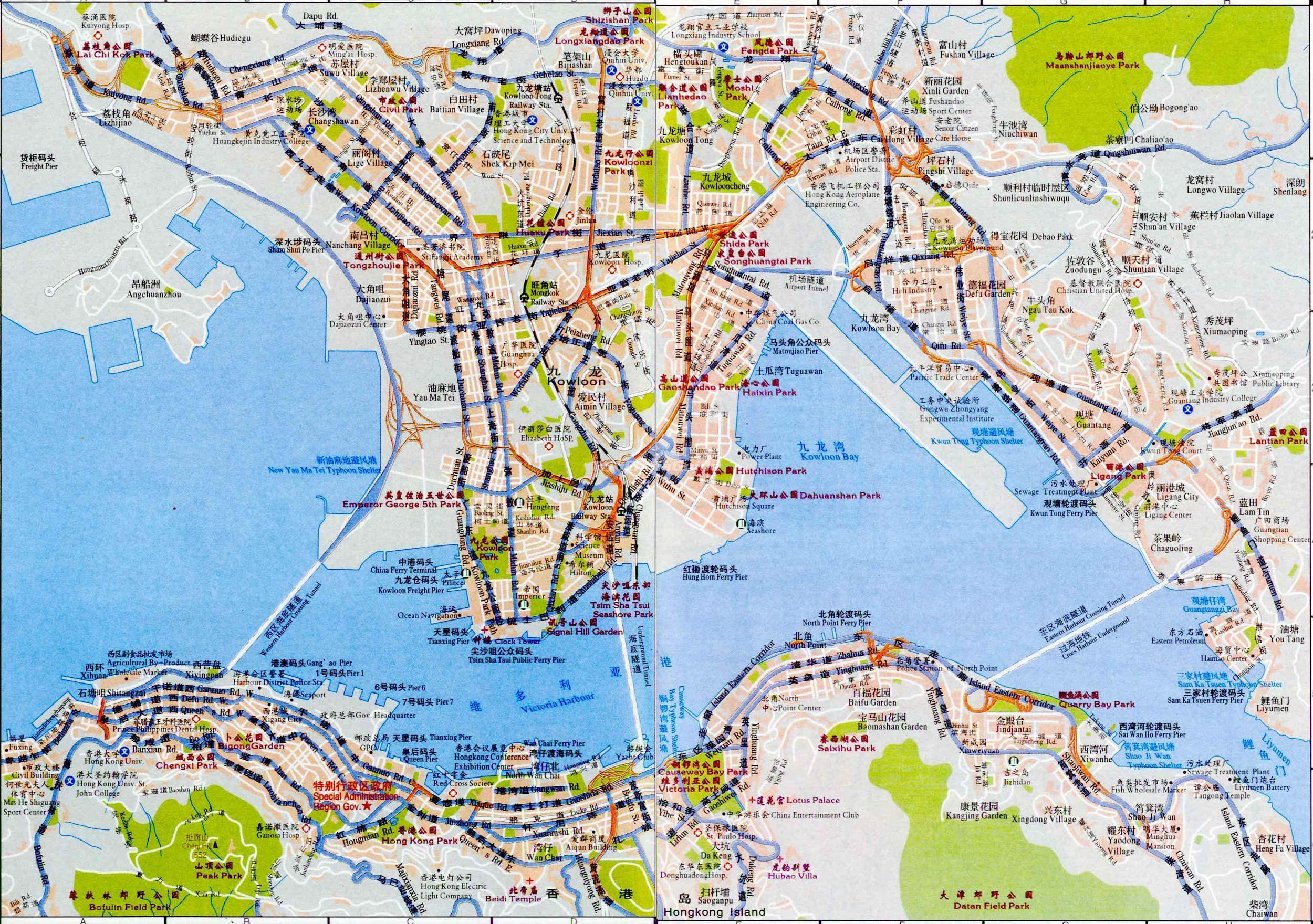 Map of Hong Kong - Maps of Hong Kong Map Hong Kong on korea map, israel map, kowloon street map, asia map, kuwait map, macau map, malaysia map, china map, colombia map, canada map, angkor map, taiwan map, japan map, tsim sha tsui map, world map, singapore map, australia map, mongolia map, global map, india map,