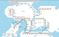 Subway Map Of Hong Kong.Hong Kong Subway Map Maps Of Hong Kong