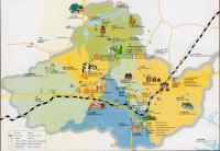 Huangshan Tourist Attractions Map