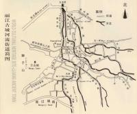 Map of Lijiang Streets and Rivers